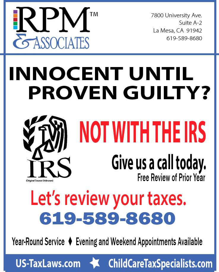 Guilty? Innocent?  What does the IRS think?