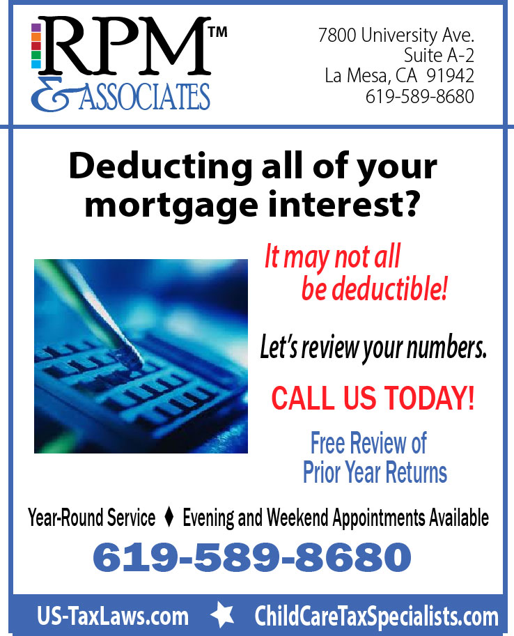 #Are You Deducting Your Mortgage Interest ?