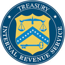 Seal of US Treasury IRS